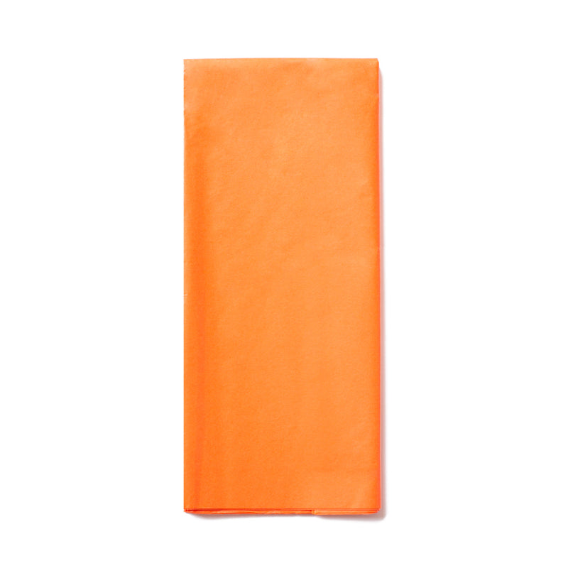 Orange Tissue Paper Pack  x10 Sheets