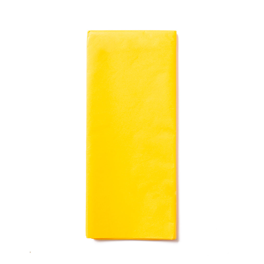 Yellow Tissue Paper Pack  x10 Sheets