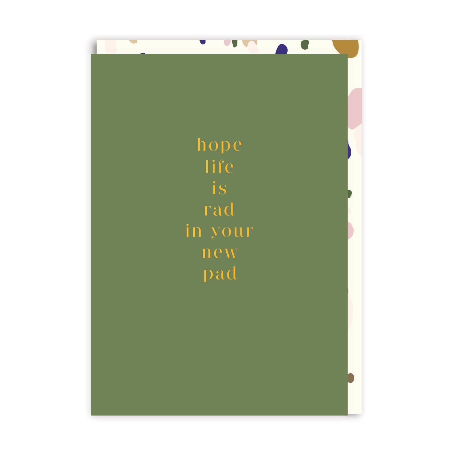 Rad New Pad Greeting Card