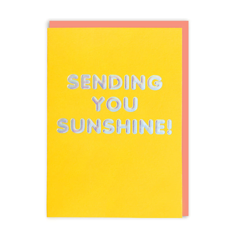 Sending You Sunshine Greeting Card