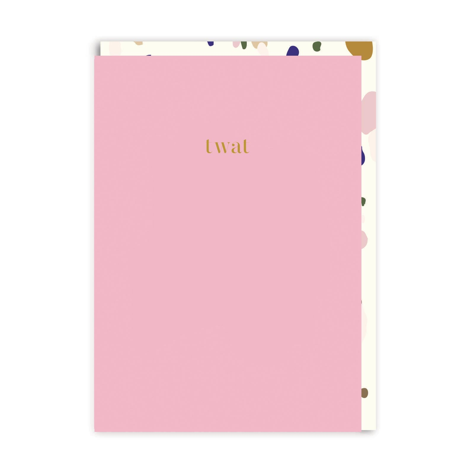 Twat Greeting Card