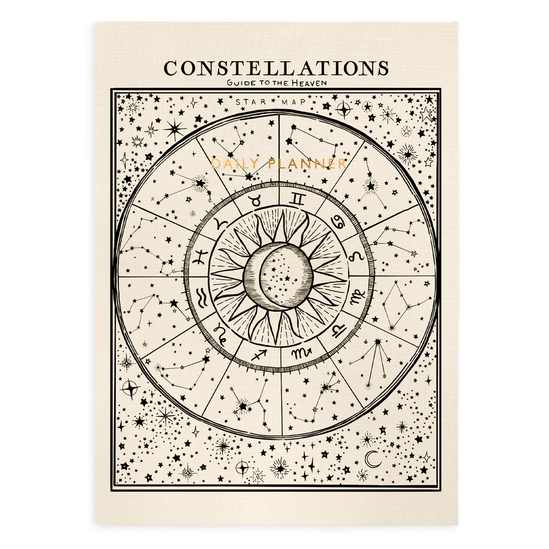 Urban Outfitters x Ohh Deer Constellations Daily Planner