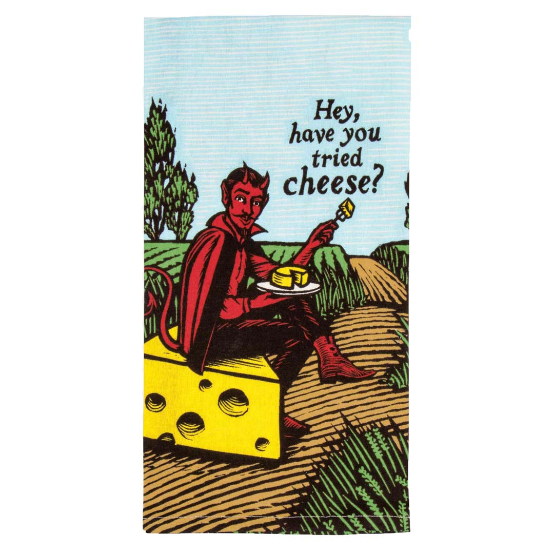 Hey, Have You Tried Cheese Tea Towel