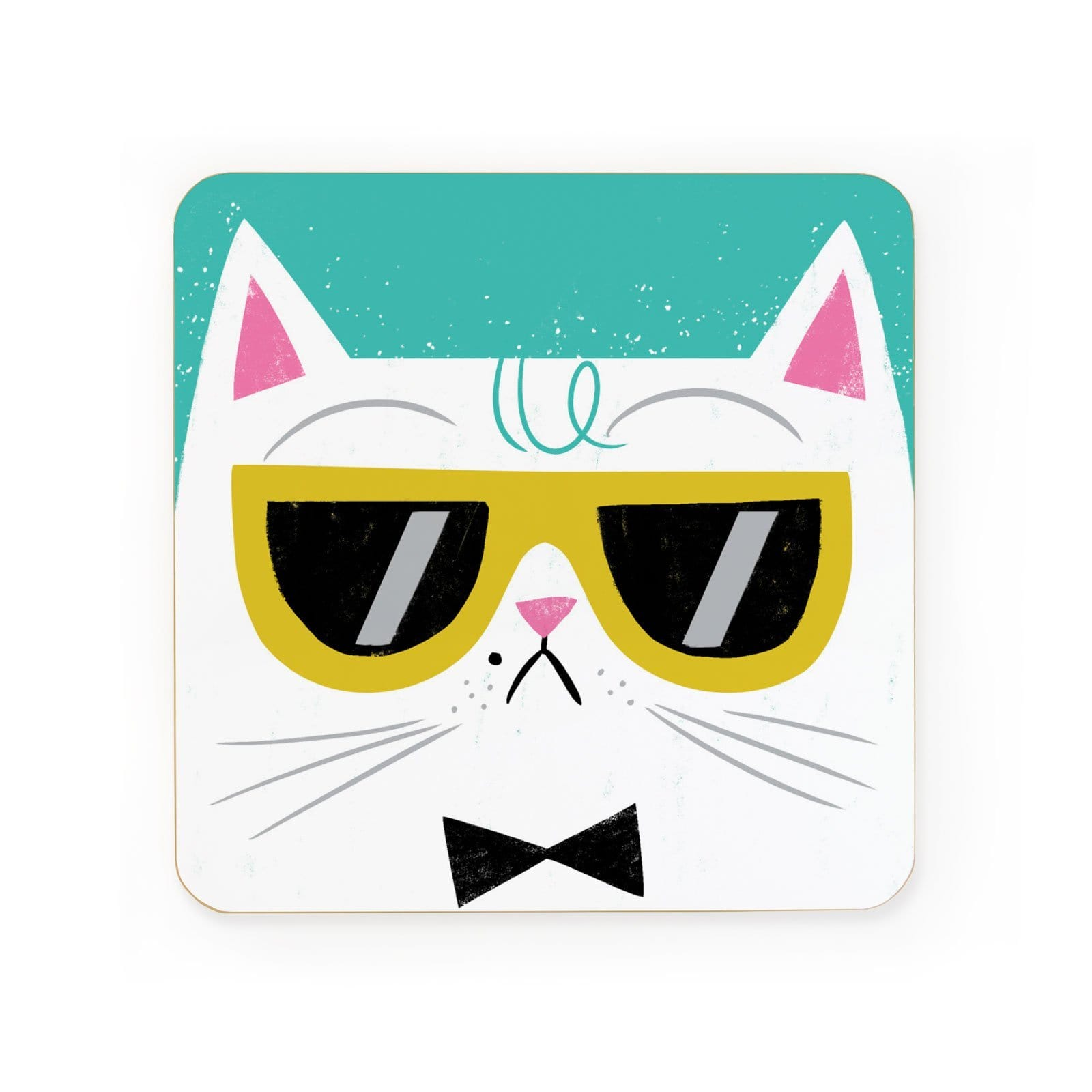 Cool Cat Coaster