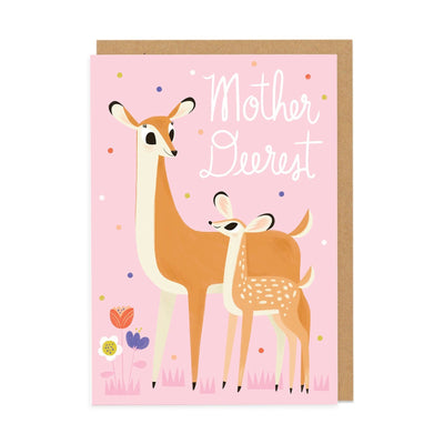 Mother Deerest Greeting Card