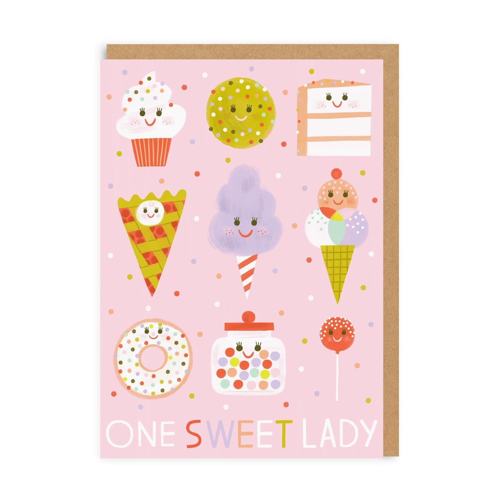 One Sweet Lady Greeting Card