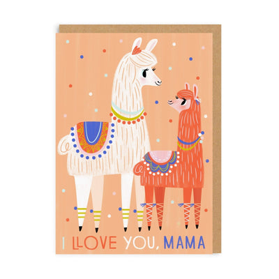 I Llove You Mama Greeting Card