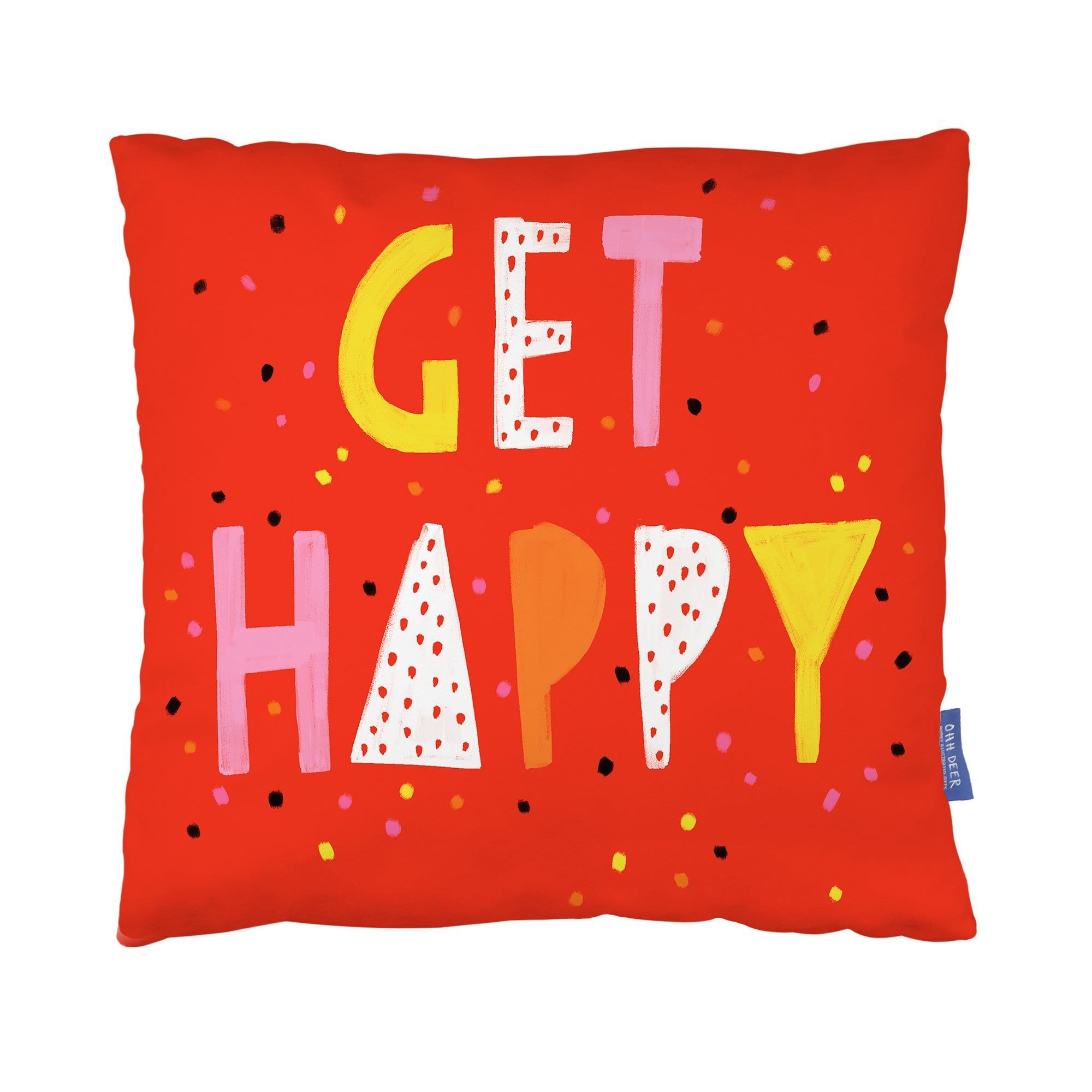 Get Happy Cushion
