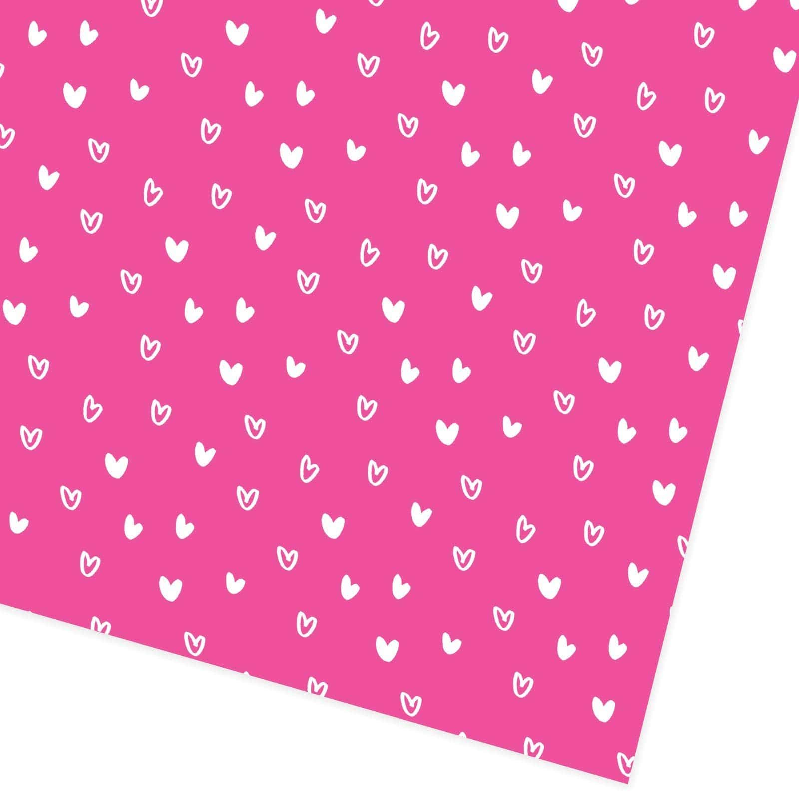 Neon Hearts Giftwrap