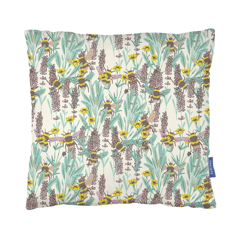 Bumblebee Meadow Cushion