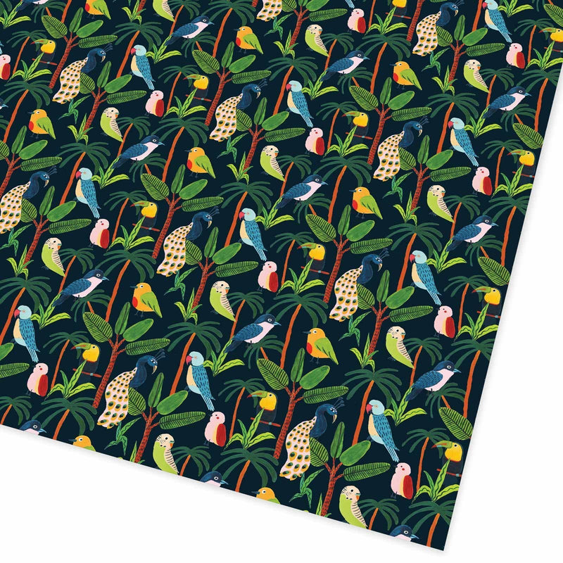 Jungle Birds Giftwrap