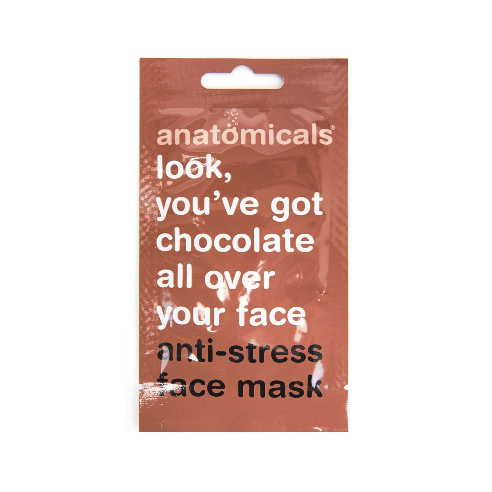 Look, You've Got Chocolate All Over Your Face Face Mask