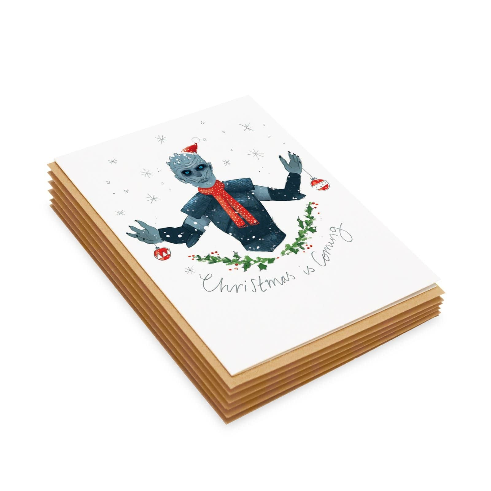 Christmas Is Coming Card Set