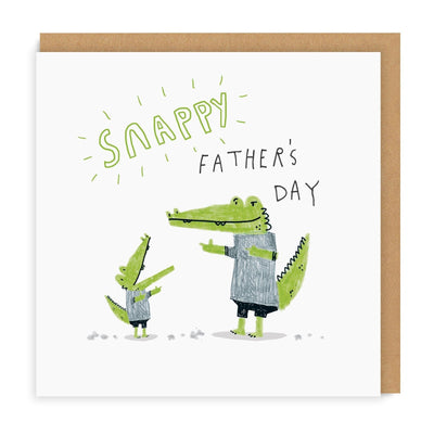 Snappy Father's Day Square Greeting Card