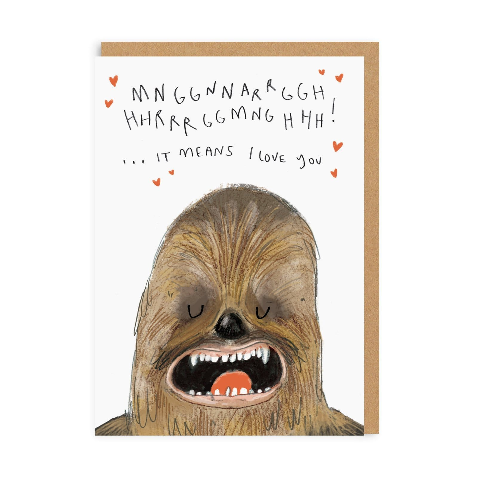 Chewy Greeting Card