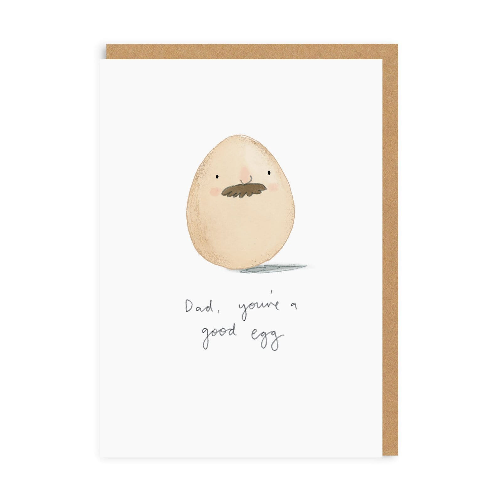 Dad You're A Good Egg Greeting Card