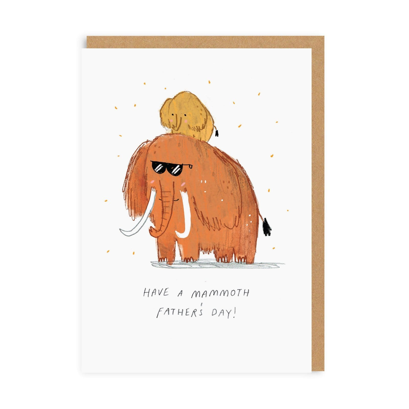 Have A Mammoth Father's Day Greeting Card