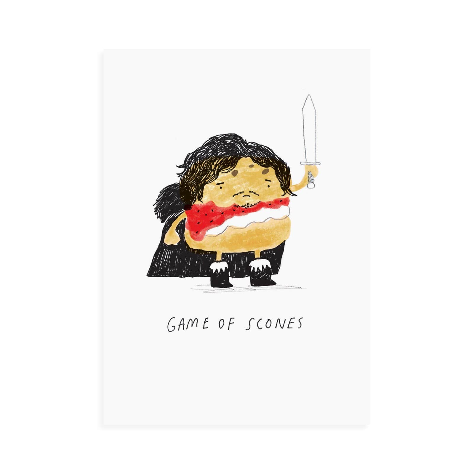 Game Of Scones Postcard