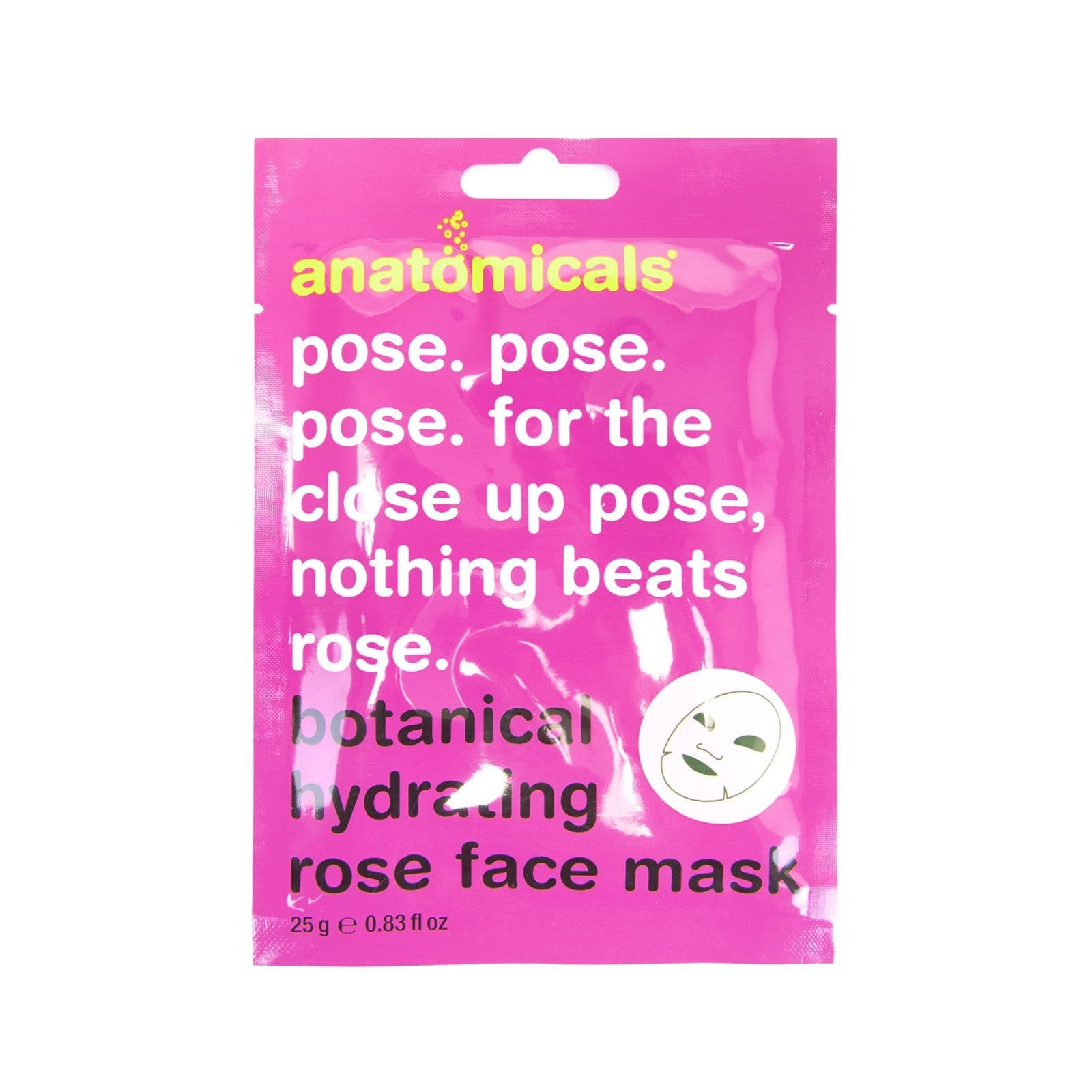 Pose. Pose. Pose. For The Close Up Pose, Nothing Beats Rose Face Mask