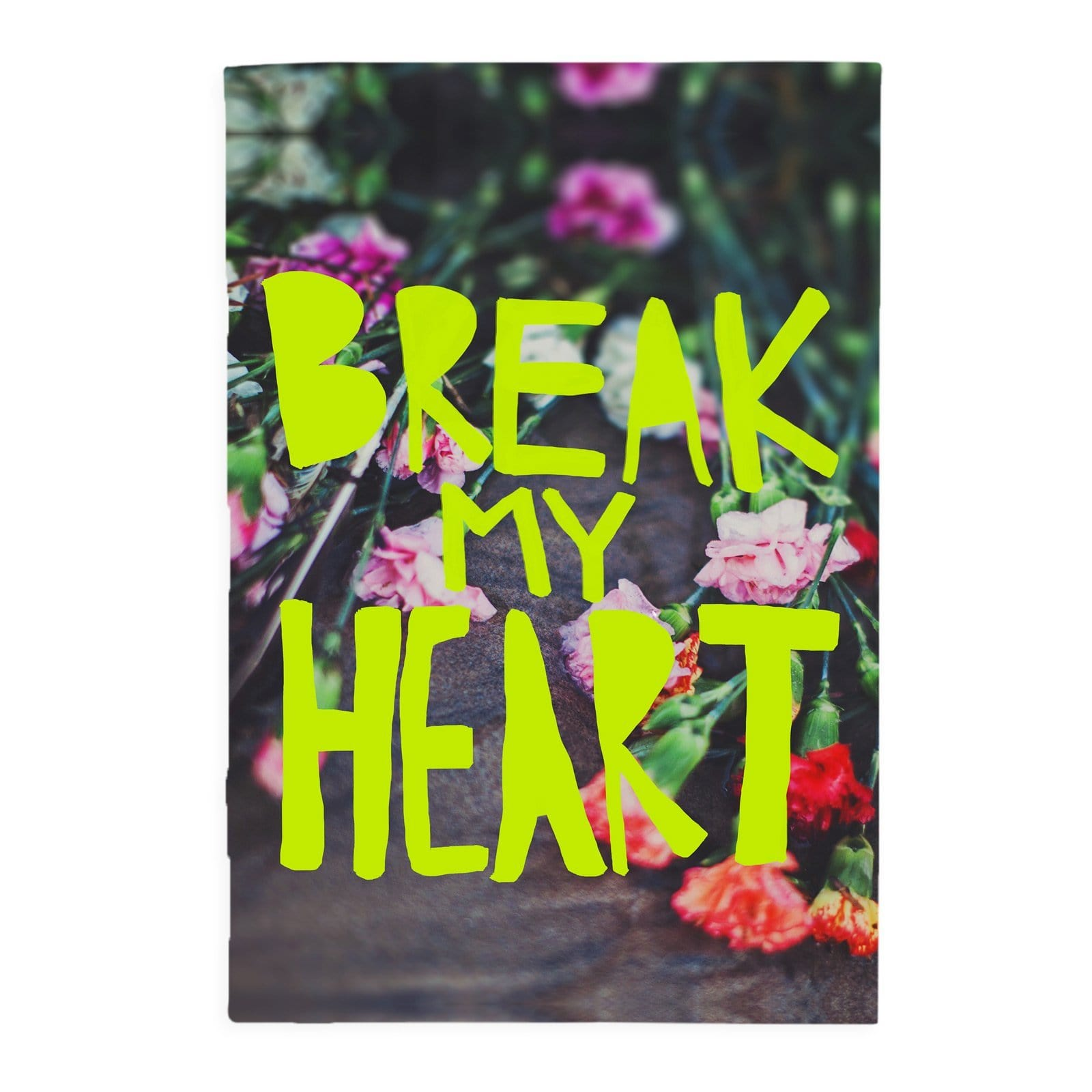 Break My Heart A5 Notebook