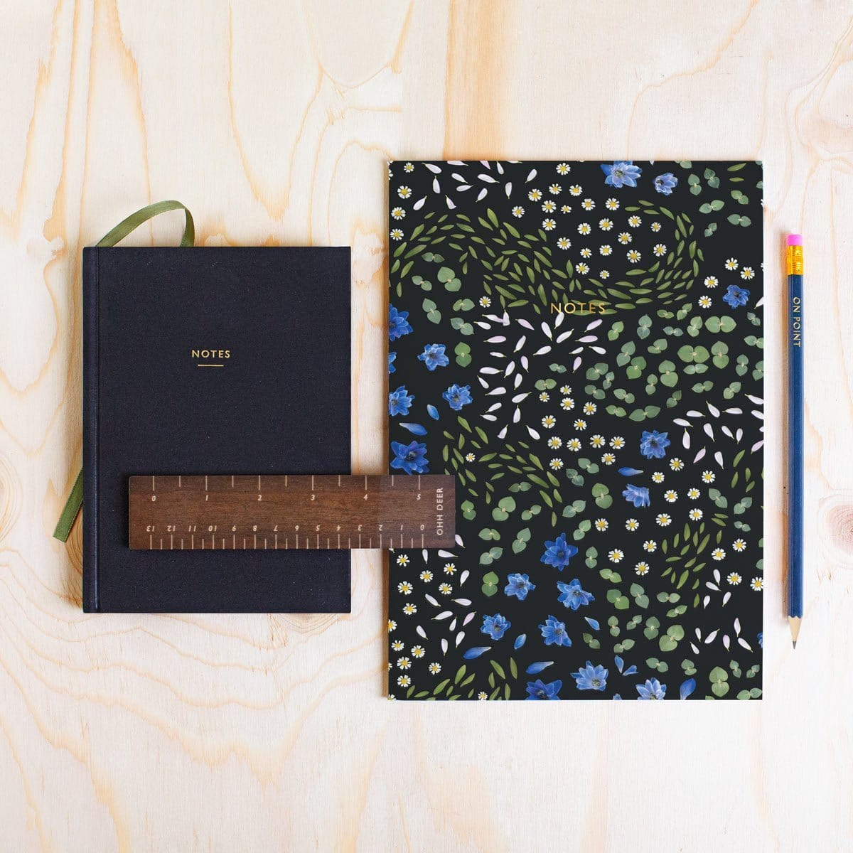 Floral Primordia Stationery Bundle