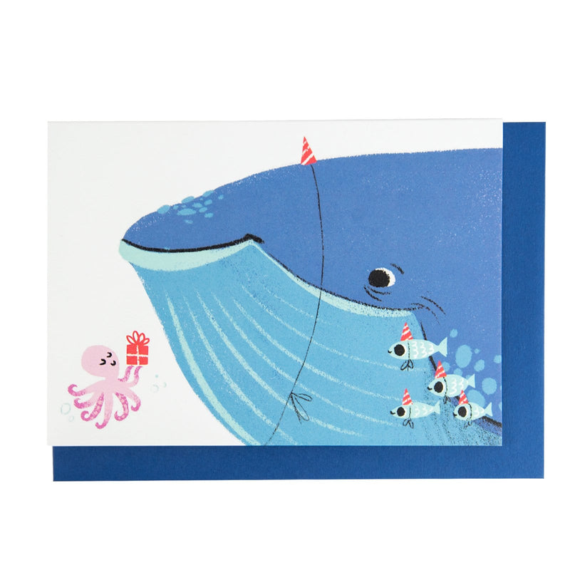 Whale of a Time Greeting Card