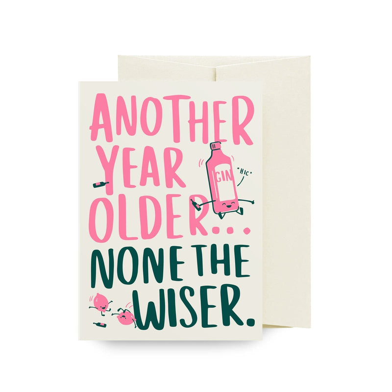 None The Wiser Greeting Card