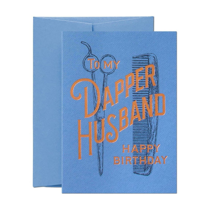 To My Dapper Husband Greeting Card