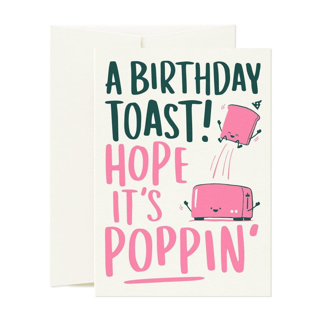 A Toast! Greeting Card