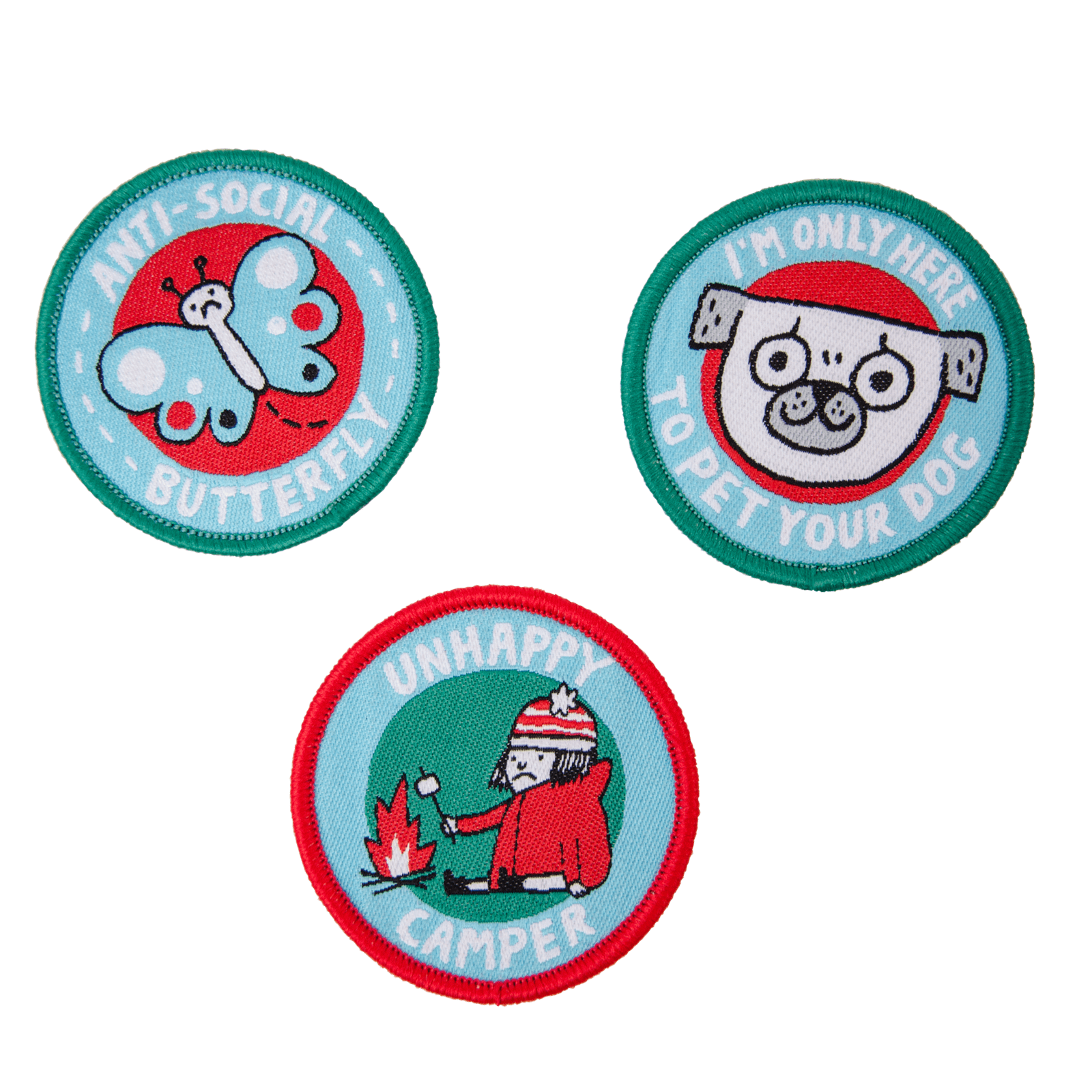 Woven Patch Set - Girl Guides