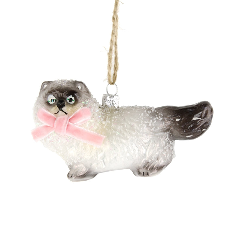 Cat Christmas Tree Ornament