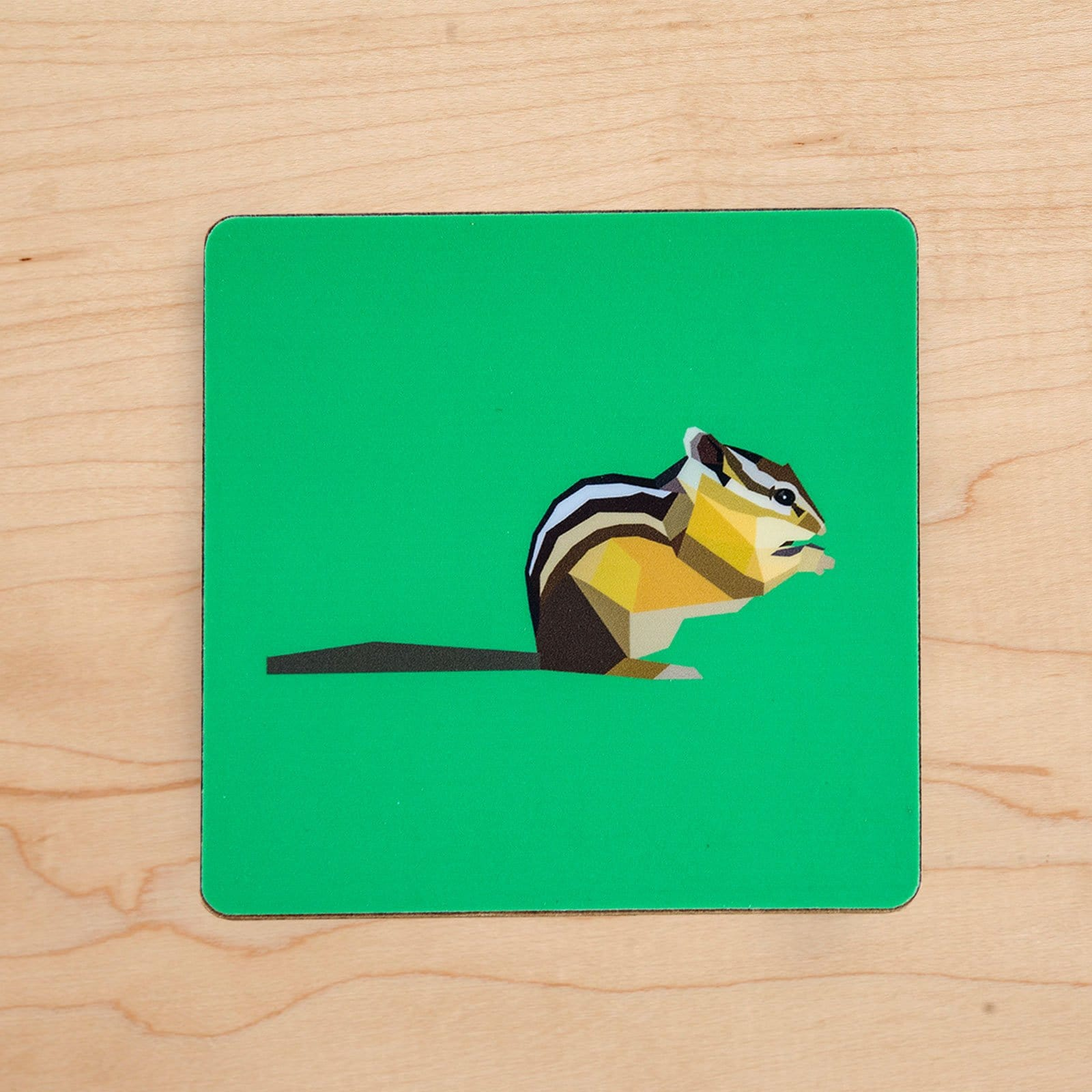 Chipmunk Coaster