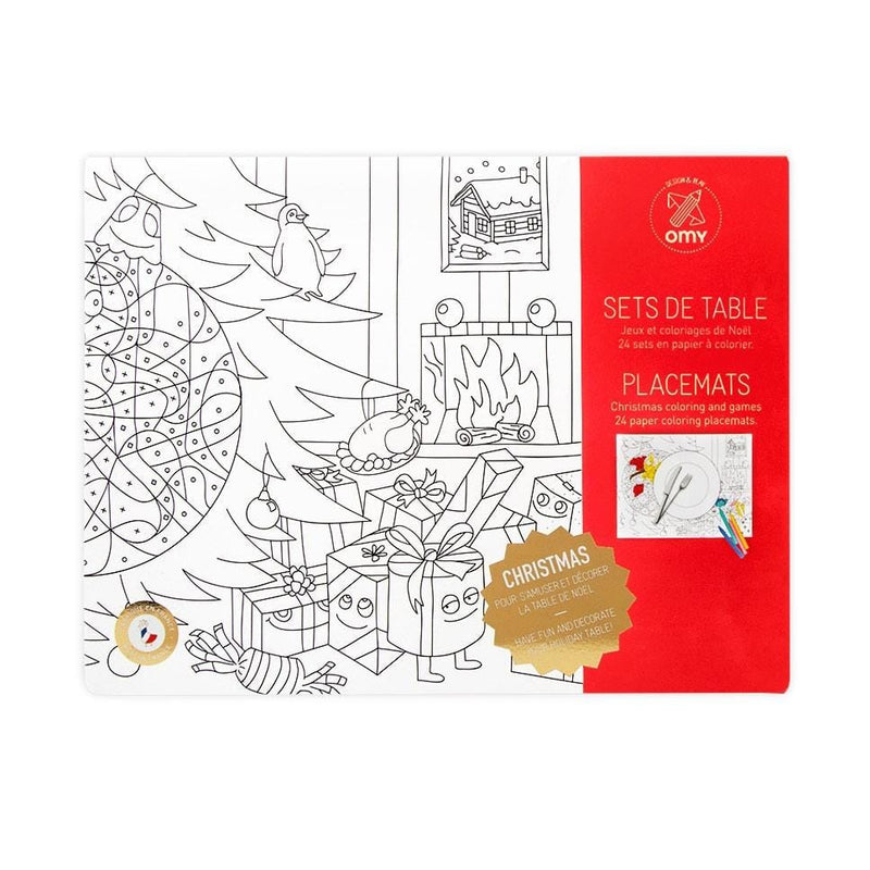 Christmas Colouring Placemats