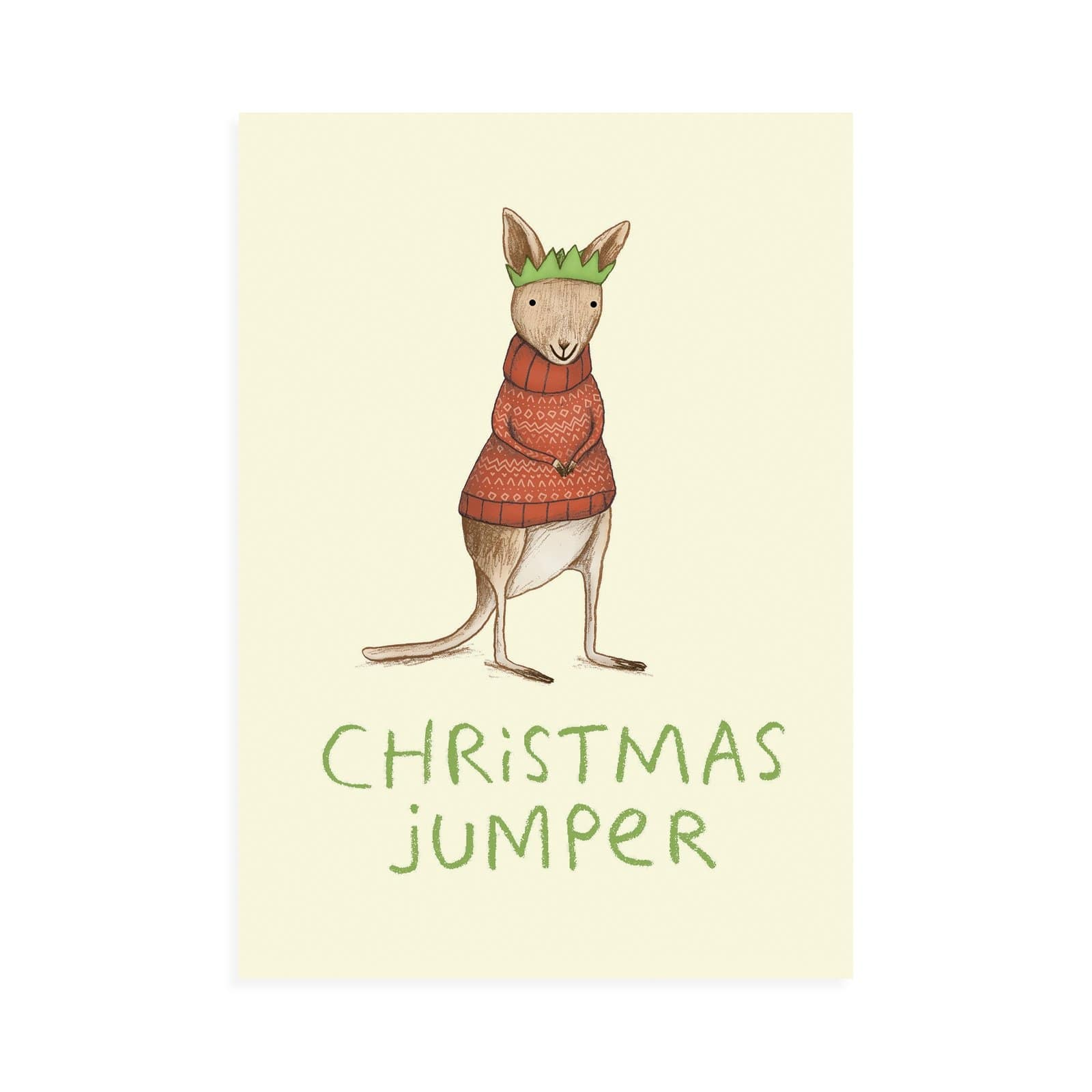 Christmas Jumper Postcard