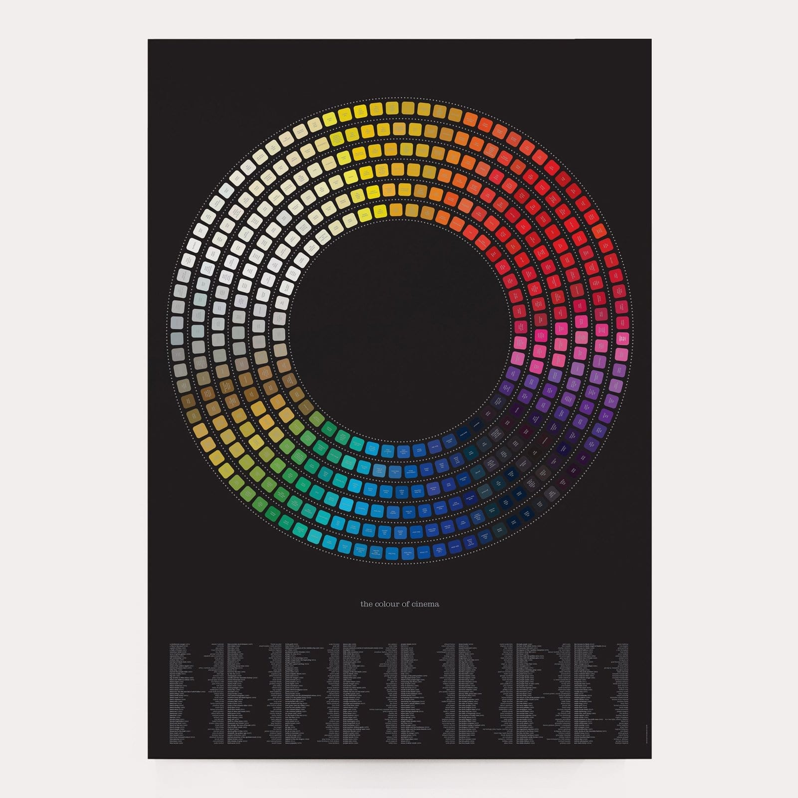 Colour of Cinema Art Print