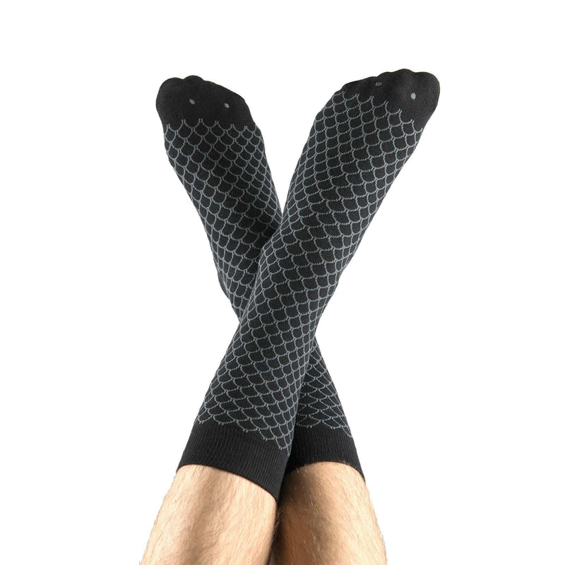 Black Fish Socks