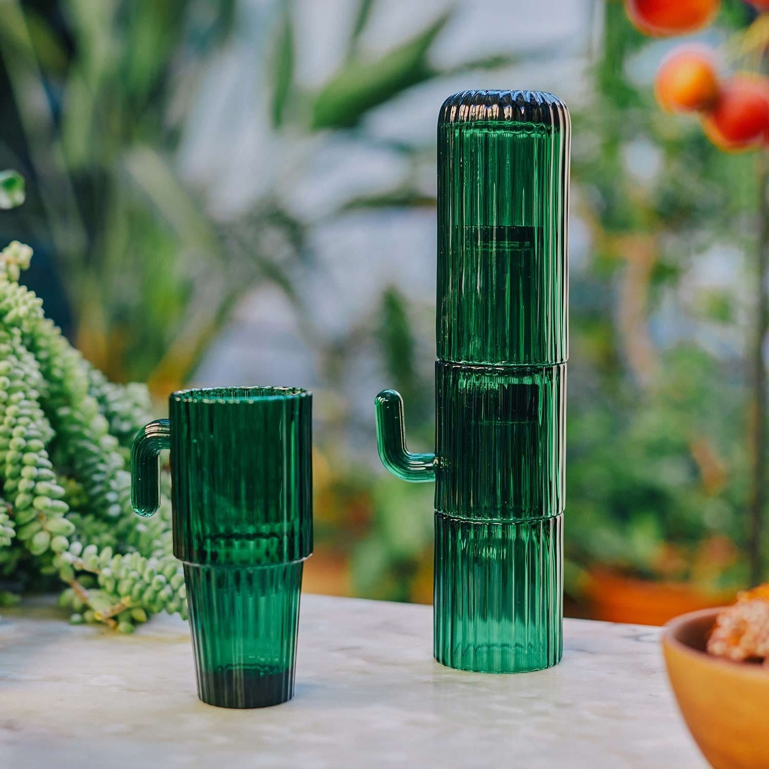 Saguaro Long Cactus Glasses