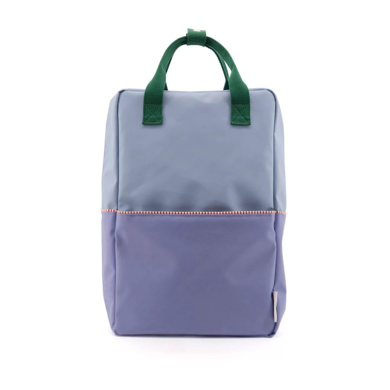 Heckles Blue Large Colour Blocking Backpack