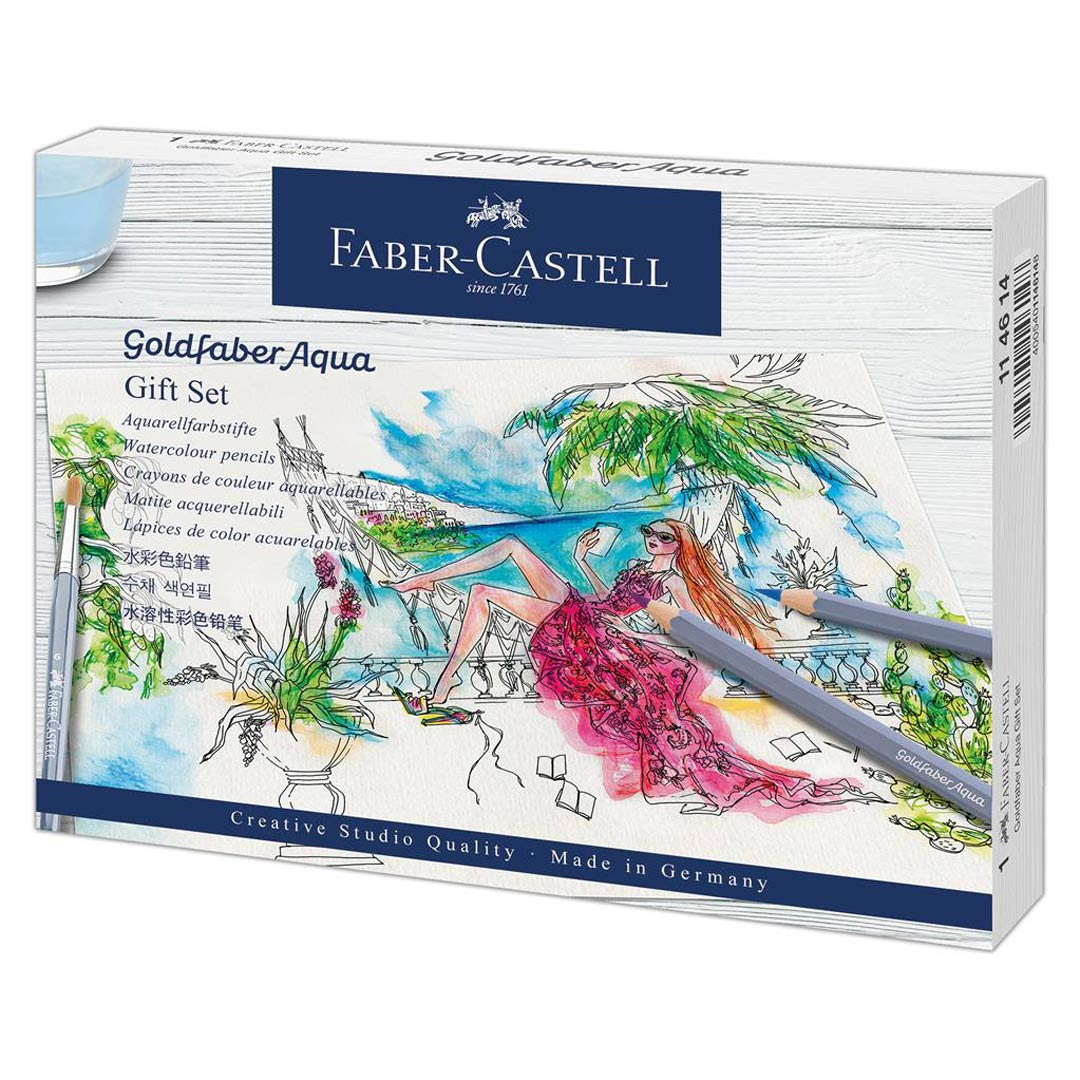 Goldfaber Aqua Watercolour Pencil Gift Set