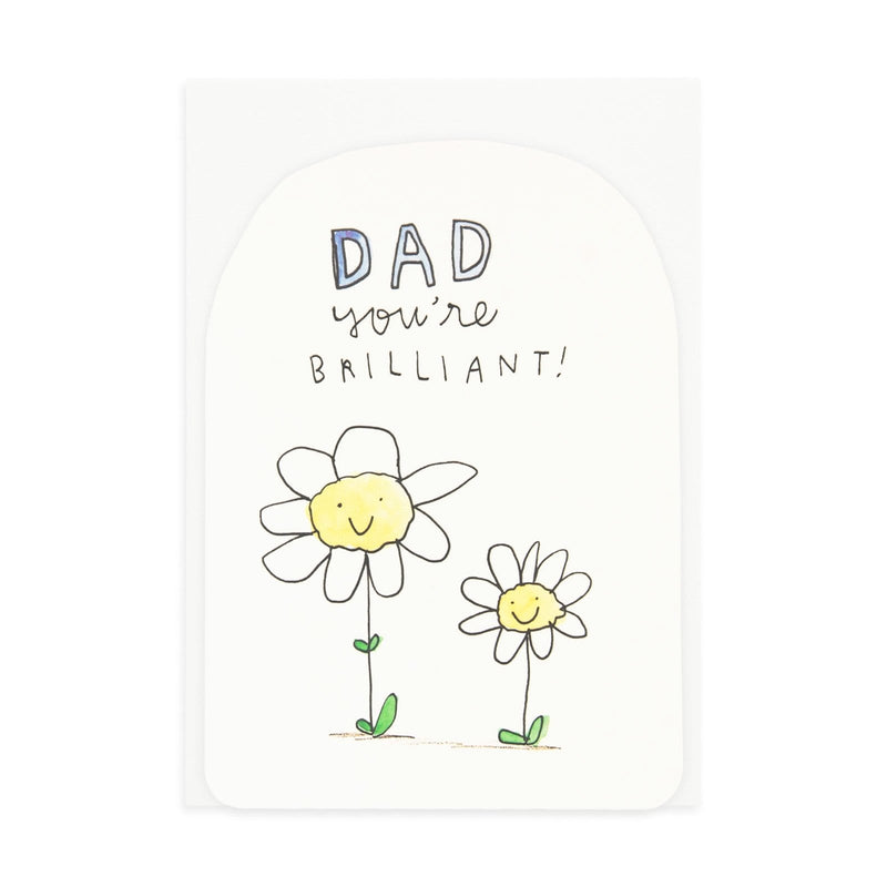 Brilliant Dad Greeting Card