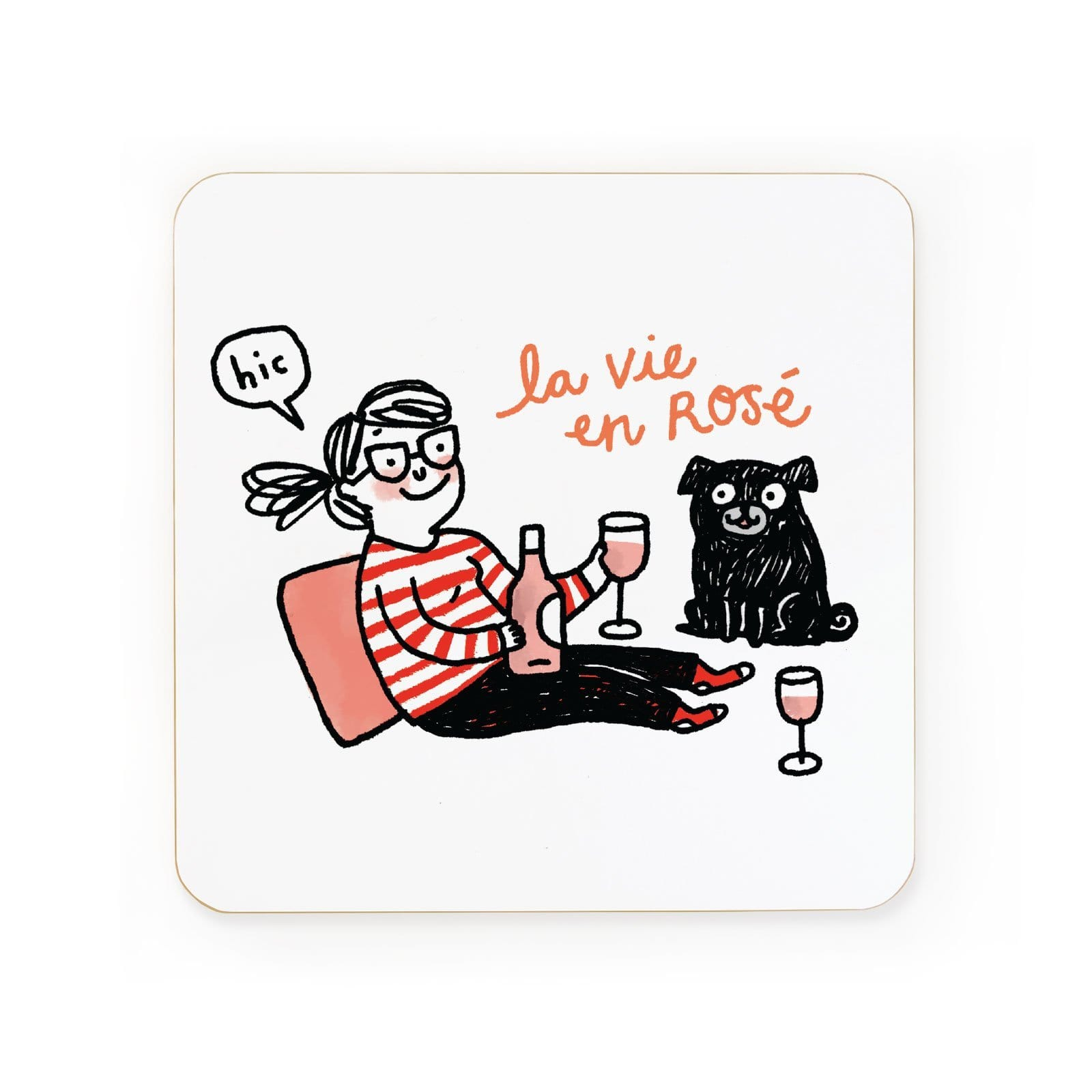 La Vie En Rose Coaster