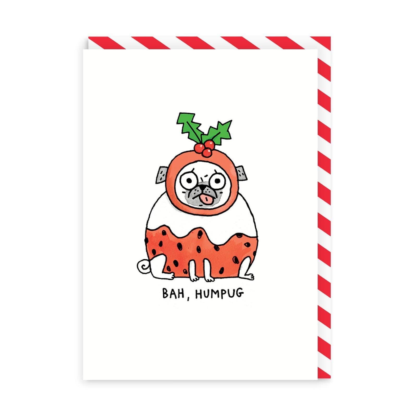 Bah Humpug Christmas Card