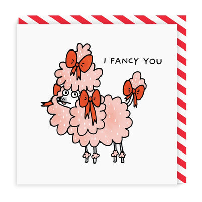 I Fancy You Square Greeting Card