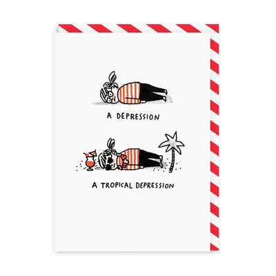 Tropical Depression Greeting Card