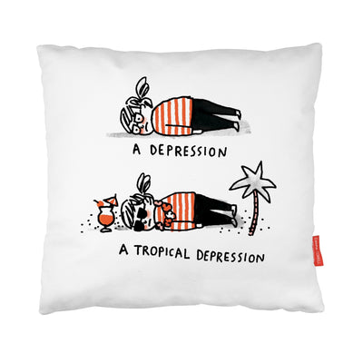 Tropical Depression Cushion