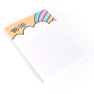 To Do Rainbow A5 Notepad
