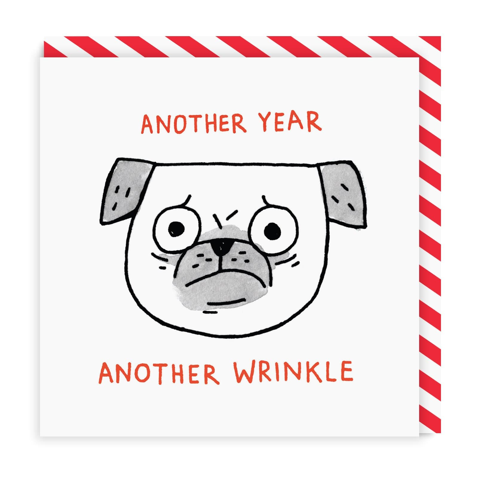 Another Wrinkle Square Greeting Card