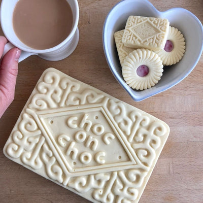 Giant White Chocolate Custard Cream