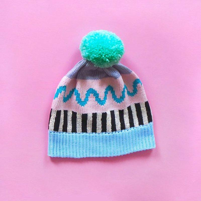 Pastel Mix And Match Bobble Hat