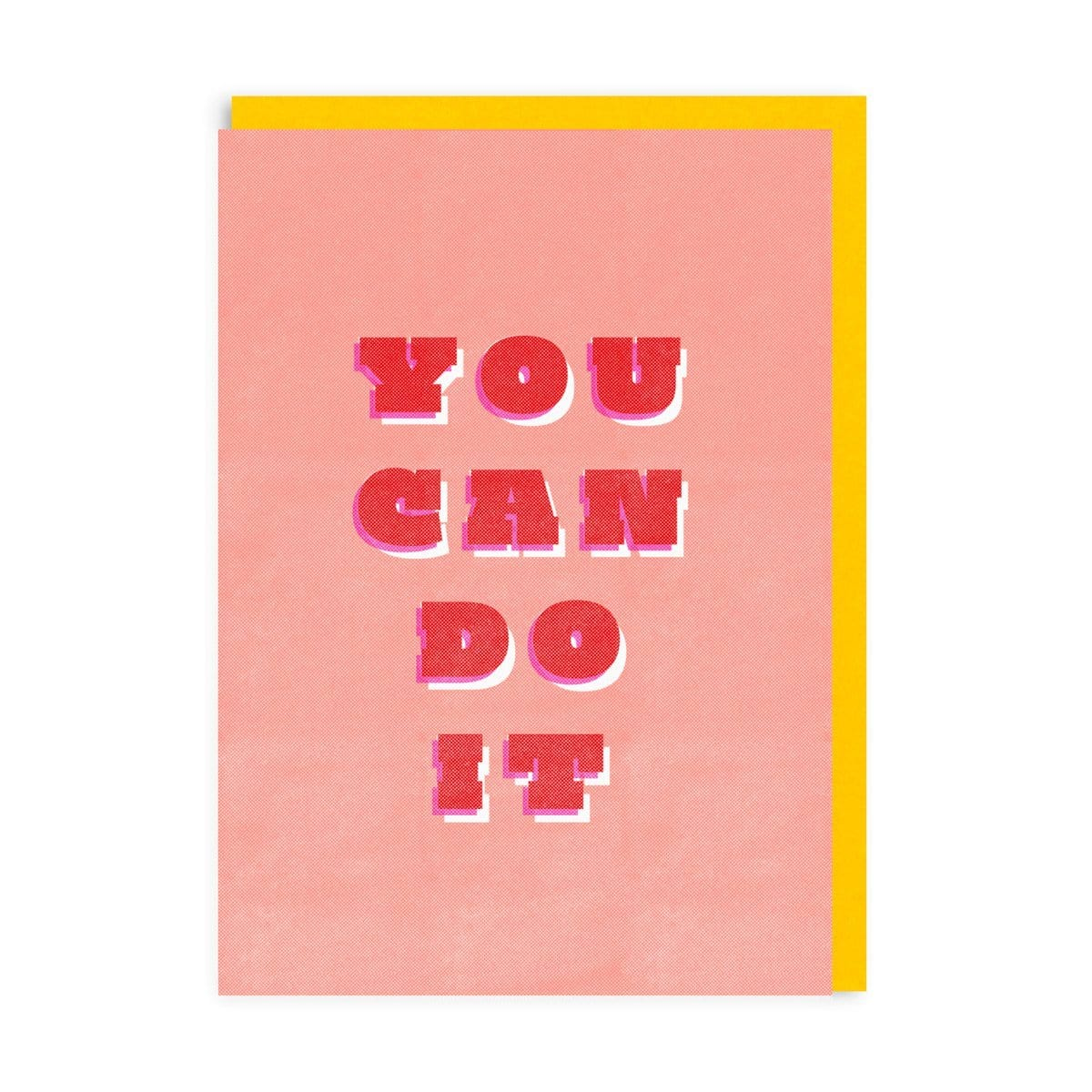 You Can Do It Riso Greeting Card